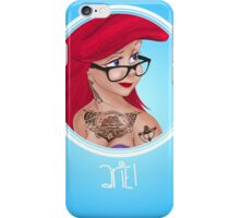Punk Disney Princesses - Ariel iPhone Case/Skin