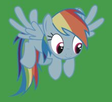 Cute Rainbow Dash Baby Tee
