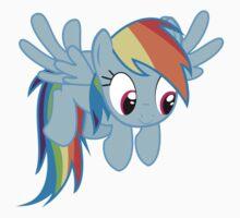 Cute Rainbow Dash Kids Tee