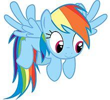 Cute Rainbow Dash Photographic Print