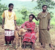 The Kingonsera Women and Simba by Liv Stockley