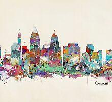 Cincinnati Ohio skyline by bri-b