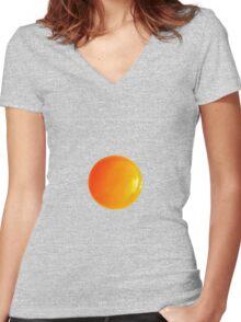 Egg Women's Fitted V-Neck T-Shirt