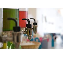 Colours On Tap Photographic Print