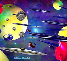Space Rage Pending by Dean Warwick