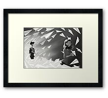 Paperman SheVersion Meg Framed Print