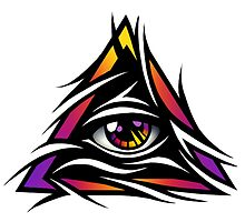 Illuminati Eye by Daanrekers
