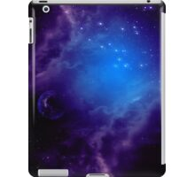 Purple space background iPad Case/Skin