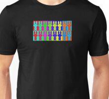 Psychedelic Bunny Hop Unisex T-Shirt