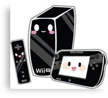 Cute Wii U Canvas Print