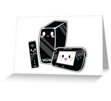 Cute Wii U Greeting Card