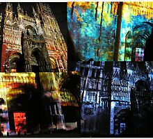 Rouen Cathedral on Show, France by Deanna Roberts Think in Pictures