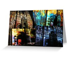 Rouen Cathedral on Show, France Greeting Card