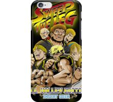 Sweep the Leg: Hill Valley Edition iPhone Case/Skin