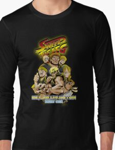 Sweep the Leg: Hill Valley Edition Long Sleeve T-Shirt