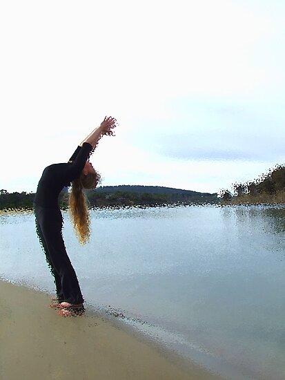 Salute the Sun - Carlton River Mouth, Tasmania by Eve creative photografix
