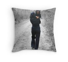 Bush Travellers Throw Pillow