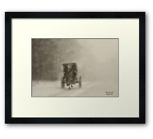 """1 Horsepower "" Framed Print"