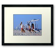 Lifeguard Station © Framed Print