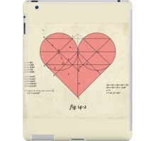 How big is your love for me? iPad Case/Skin