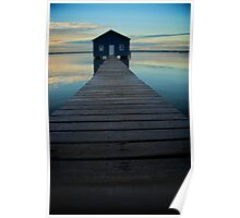 swan river boat shed Poster