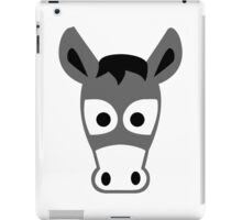Donkey head iPad Case/Skin