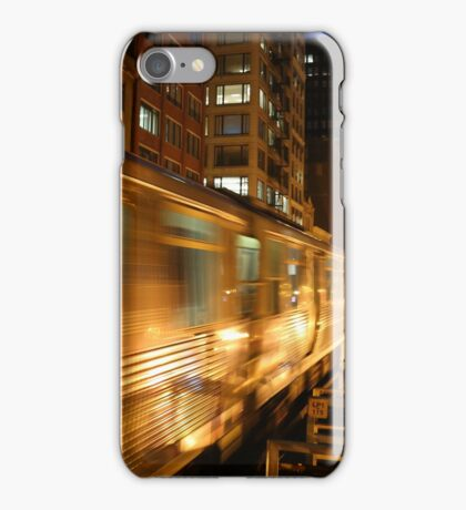 Chicago Elevated Train iPhone Case/Skin
