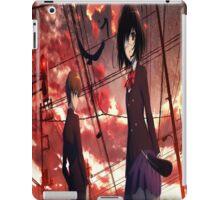 Misaki mei and sakakibara kouichi another iPad Case/Skin