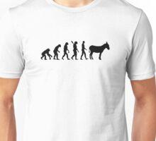 Evolution Donkey Unisex T-Shirt