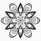 Tribal Flower by Dalton Sayre