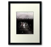 Archway at Night Framed Print