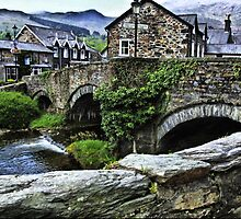 Beddgelert Bridge HDR by Dfilmuk Photos