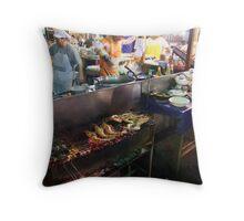 Night Market - Kitchen Throw Pillow