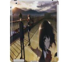 Misaki mei and sakakibara kouichi another anime iPad Case/Skin