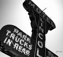 Vintage Sign 2 by Joanne Mariol