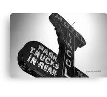 Vintage Sign 2 Metal Print