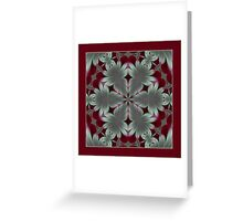 In the Forest of the Fern Shawl Greeting Card