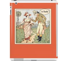 m'lady iPad Case/Skin