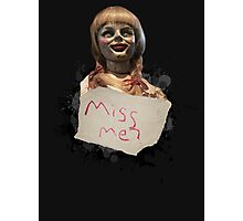 Annabelle the Doll Photographic Print