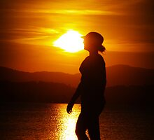 Sunset Walk by Wanagi Zable-Andrews