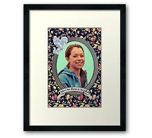 Beth Childs Portrait - Orphan Black Framed Print