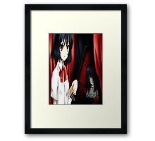 Misaki mei another anime Framed Print