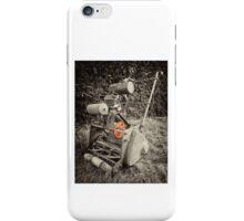 Vintage Mower  iPhone Case/Skin