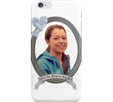 Beth Childs Transparent - Orphan Black iPhone Case/Skin
