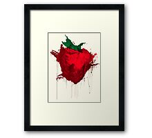 Strawberry from Across the universe Framed Print