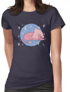 Sleeping Lion Womens Fitted T-Shirt