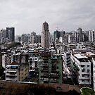 Macau Skyline by demistified