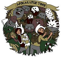 Apocalypse Time! by Jazmine Phillips