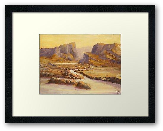 Desert Sunsets by SB  Sullivan