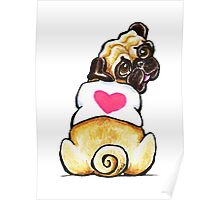 Sweetie Pug Poster